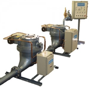 Ashveyor Pneumatic Conveyors in a Line