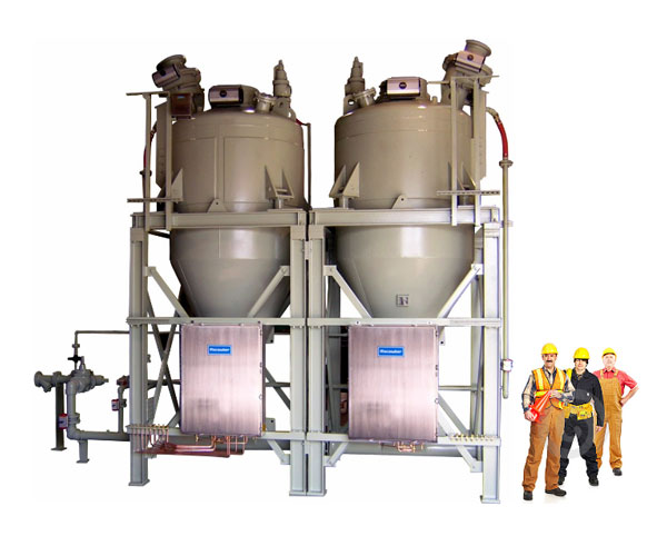 High Tonnage Long Distance Pneumatic Conveyors