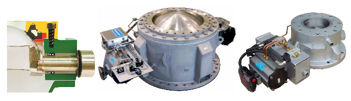 Macawber dome valves pneumatic conveying