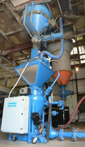 pneumatic conveying test rig