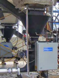 Pneumatic Conveyor Under ESP Hopper