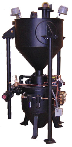Pneumatic Sand Conveying Systems