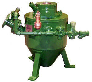 Sand Pump for Pneumatic Conveying of Bed Sand