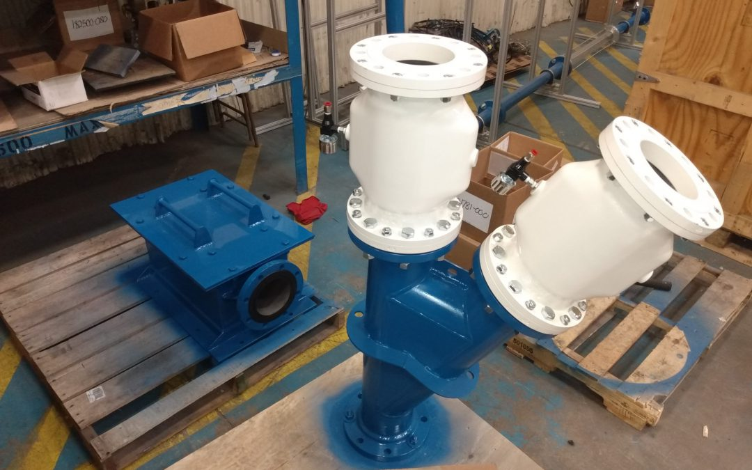6inch Pinch Type Switch Valve and Terminal Box 1 of 2