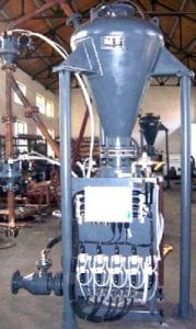 coal gasifier ash pneumatic conveying system