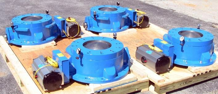 dome valves cement conveying