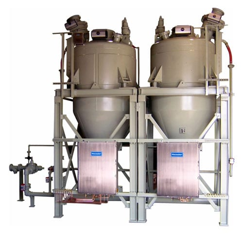 high tonnage long distance pneumatic conveying