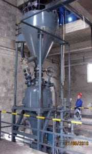 long distance pneumatic conveying
