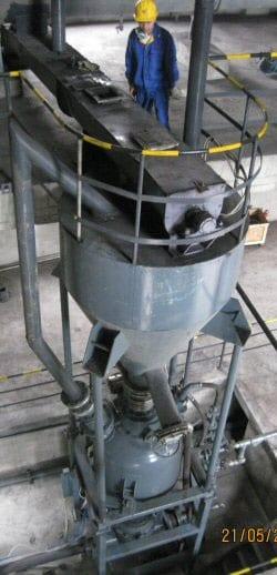 long distance pneumatic conveyor