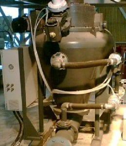 pneumatic conveying of fine grain gypsum