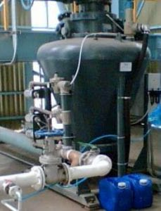 pneumatic conveying of portland cement