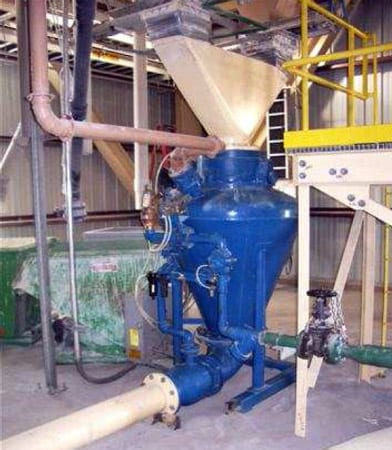 pneumatic conveying of silica sand