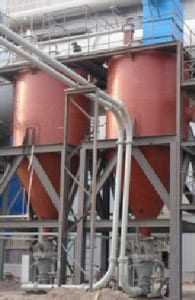 pneumatic conveying of steel smelter ash