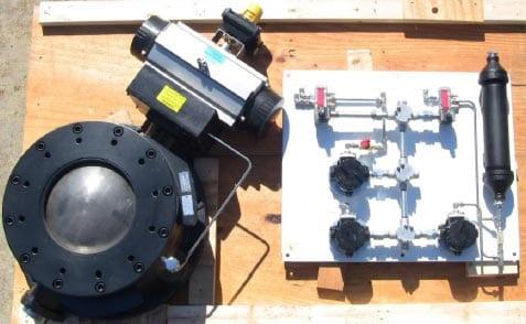 refuse derived fuel fail safe closed valves