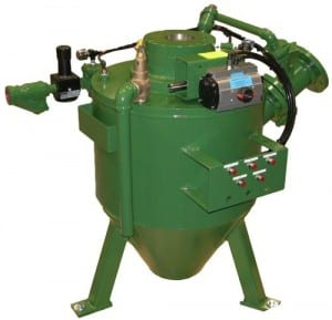 sandpump for pneumatic conveying of foundry sand 300×289