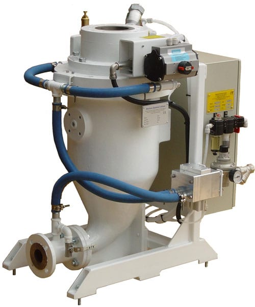 small low capacity pneumatic conveying system
